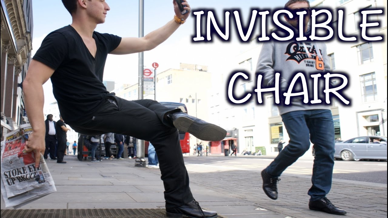 Chair Stand Up Trick Big Lots Furniture Chairs Invisible Magic Youtube