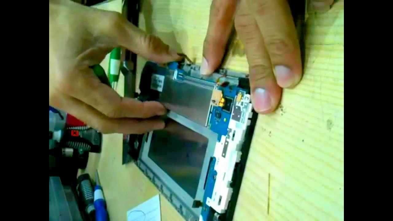samsung galaxy tab p1000 sim socket replacement   youtube