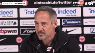 Eintracht Frankfurt vor dem Spiel gegen Dortmund