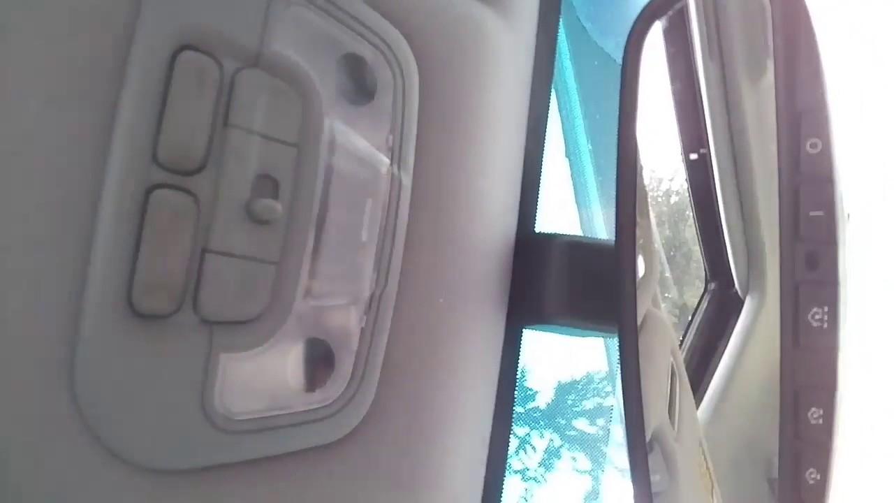 Replacing Interior Lights On 2002 2005 Hyundai Sonata Led Conversion Youtube