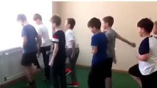 Разминка на уроке физкультуре
