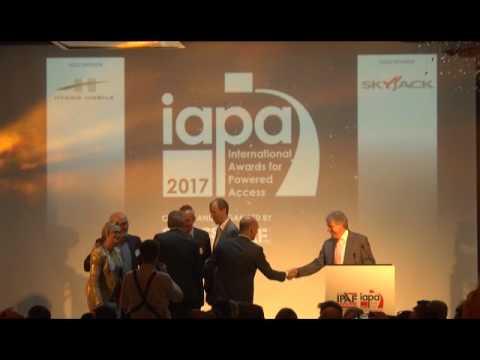 Riwal wins Access Rental Company of the Year 2017 award