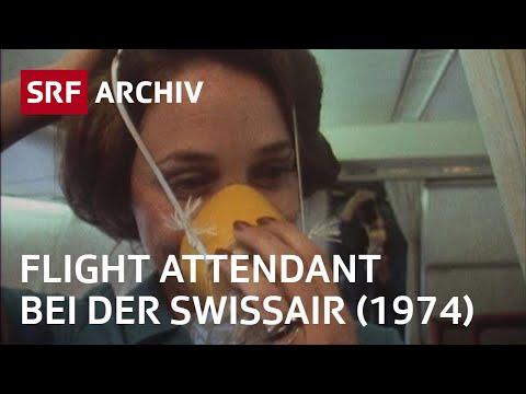 Air Hostessen bei der Swissair (1974)