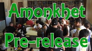 magic the gathering amonkhet pre release local game store vlog