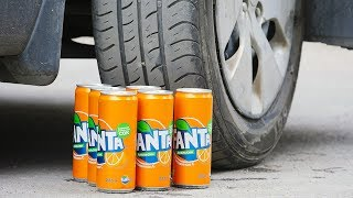 EXPERIMENT Car VS Fanta
