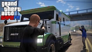 GTA 5 Roleplay - DOJ 130 - Money Truck Robbery (Criminal)