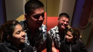 Ganito pala malasing si Loisa Andalio at Ronnie Alonte ang Haharot 😜