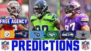 2020 NFL Free Agency News & Rumors | PREDICTING Where The Top Remaining Free Agents Sign