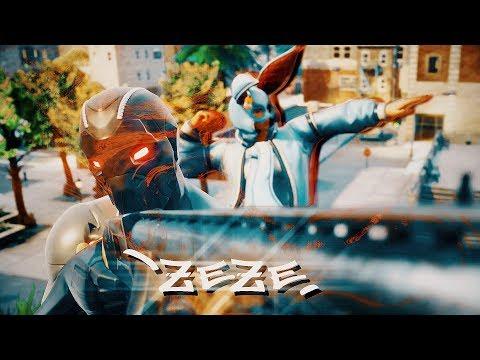 Kodak Black' ZEZE ' (feat. Travis Scott & Offset) - Fortnite Edit [ Clips in desc ]