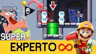 ¡¡¿QUÉ CLASE DE SITIO ES ESTE?!! - SUPER EXPERTO INFINITO (NO SKIP) - SMM2 - ZetaSSJ
