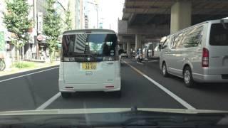 4K 国道4号 等速版 その1-1 東京都・日本橋→埼玉県越谷市 新4号分岐まで