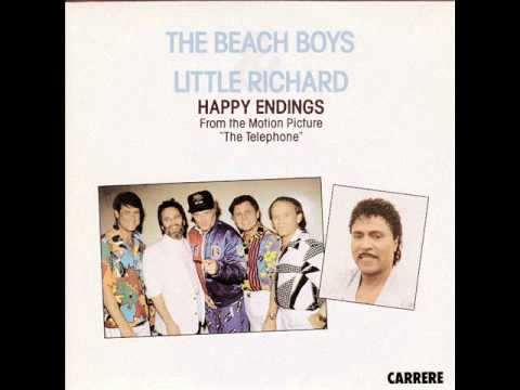 The Beach Boys & Little Richard - Happy Endings (1987 single)