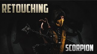 [Retouching] Scorpion | Обработка фото №32