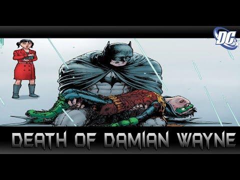 ความตายของDamian ลูกชายแท้ๆของ Batman! - Comic World Daily
