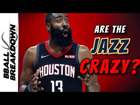 Are The Jazz Crazy For Guarding Harden This Way?