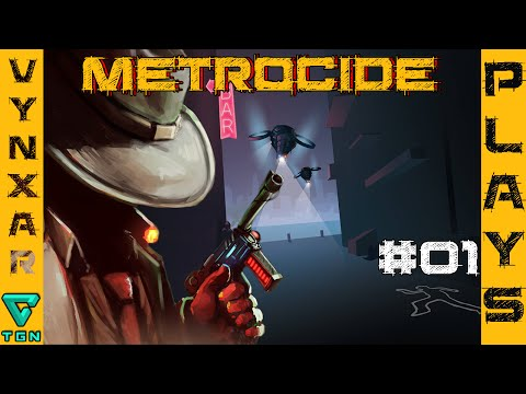 Metrocide - Grab your trench coat for a little bit of Stealthy cyberpunk action!