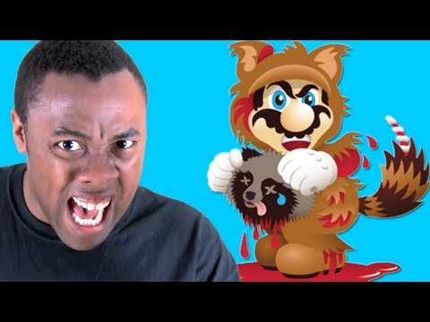 Rants - MARIO, FUR IS MURDER! PETA vs. Super Mario 3D Land