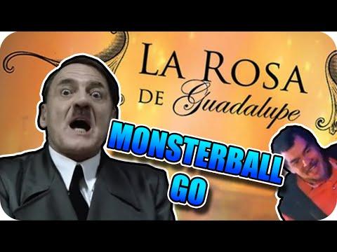 HITLER critica al capitulo MONSTERBALL GO de La Rosa de Guadalupe - Parodia