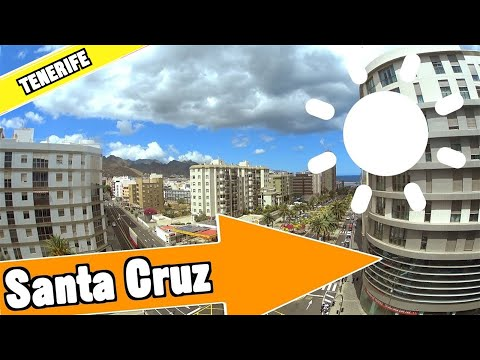 Santa Cruz Tenerife Spain: Tour of beach and resort