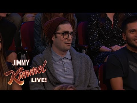 Sports Hating Hipster Interrupts Jimmy Kimmel's Monologue