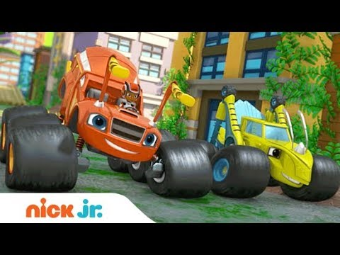 'Wild Wheels Adventures' Special Premieres Sept. 26th! | Blaze and the Monster Machines | Nick Jr.