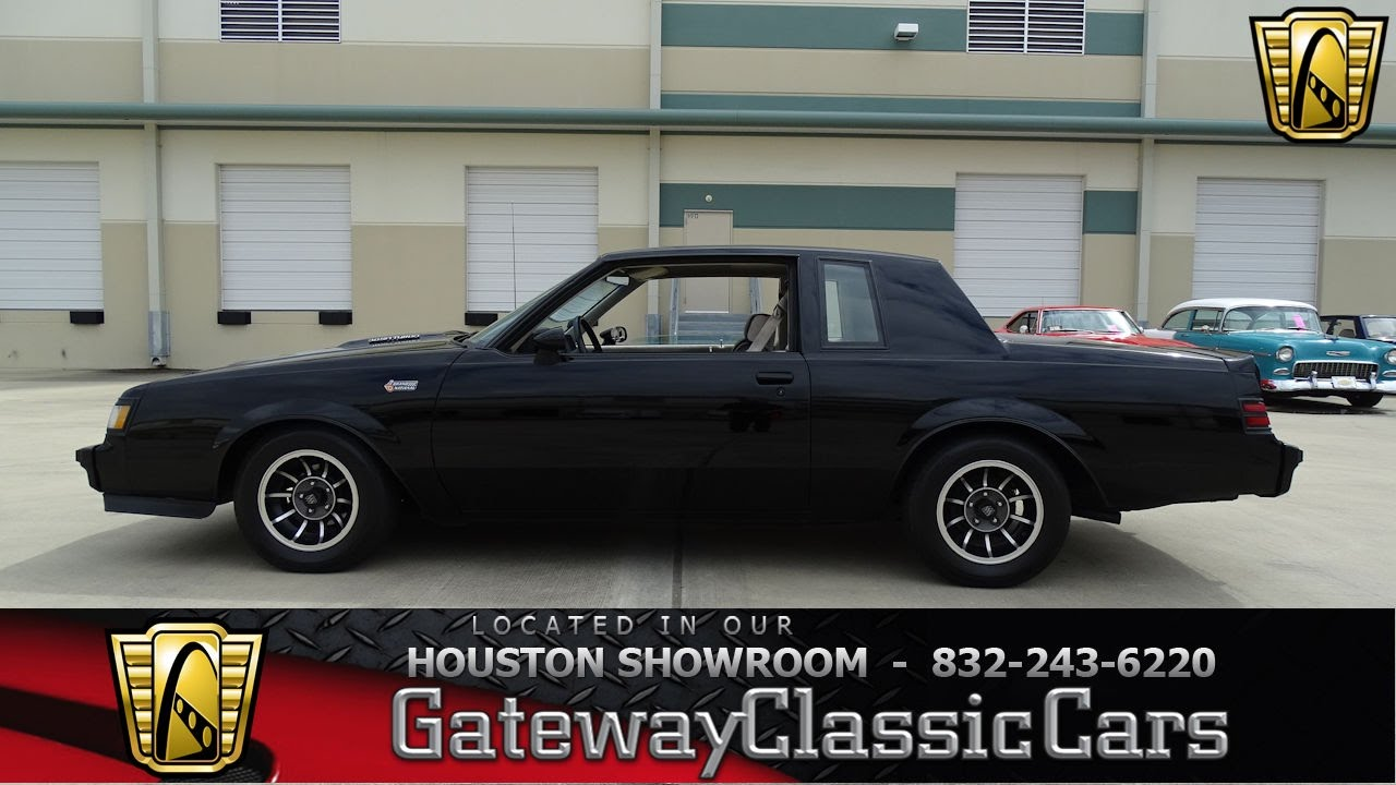 Hou Buick Grand National Gateway Classic Cars Houston
