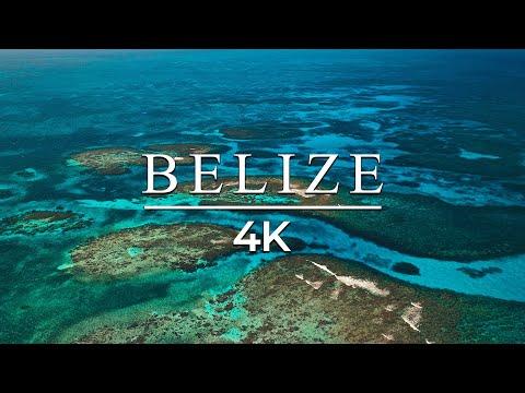 4K Belize Drone