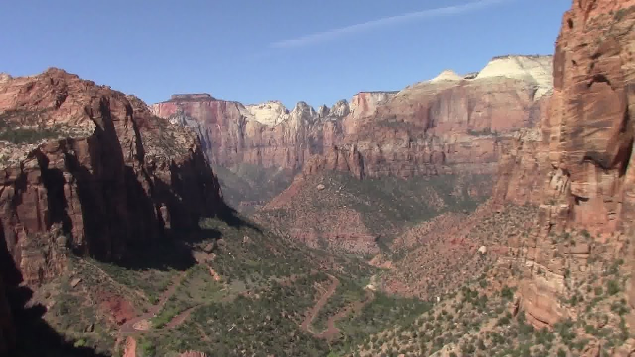 Zion National Park Utah - Canyon Overlook Trail - YouTube | 1280 x 720 jpeg 118kB