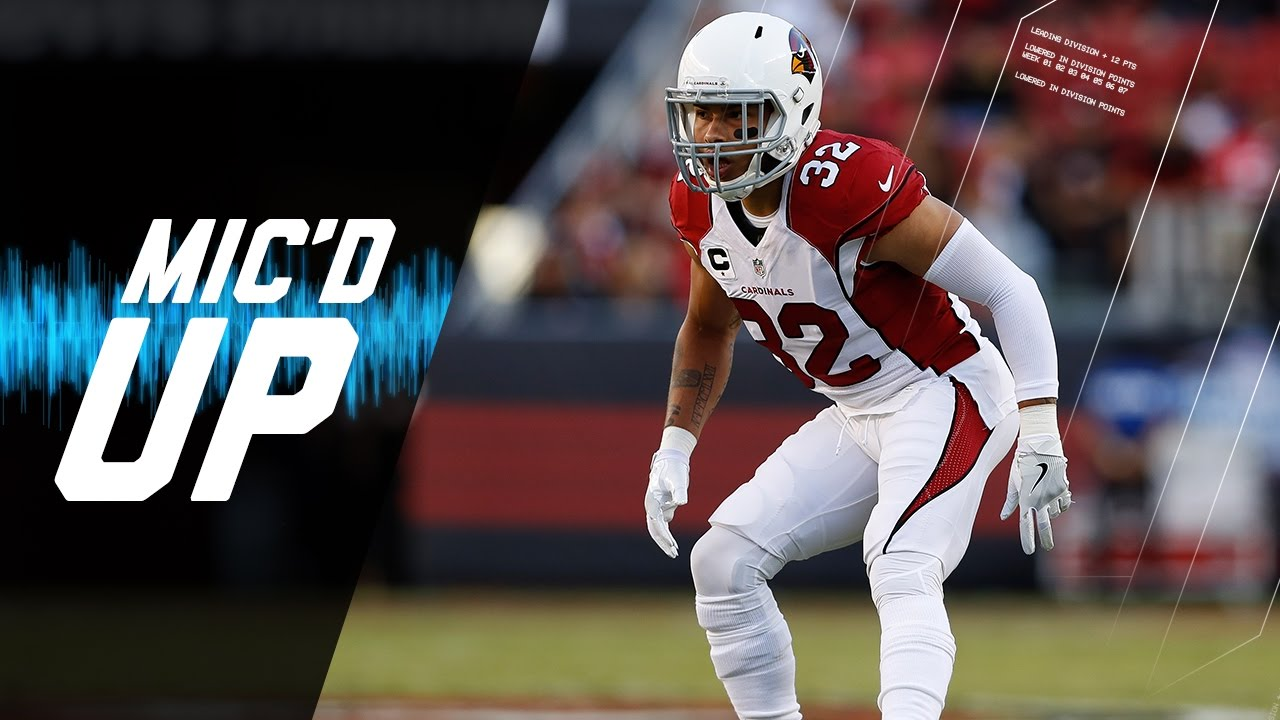 Tyrann Mathieu Mic d Up vs 49ers Week 5 2016 Sound FX