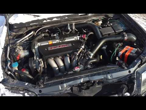Turbo TSX (K24A2) walk around and setup