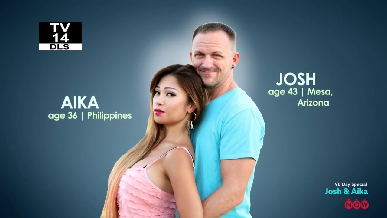 Image result for 90 day fiance josh and aika
