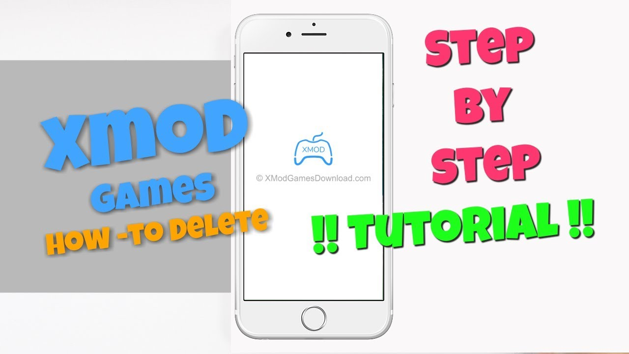 How to Delete XmodGames App - HD Video