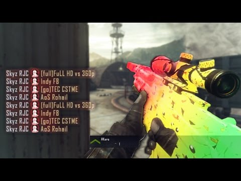 8 KILLS 1 BULLET! TOP 250 BANGERS [INSANE CALL OF DUTY SNIPER MONTAGE!]