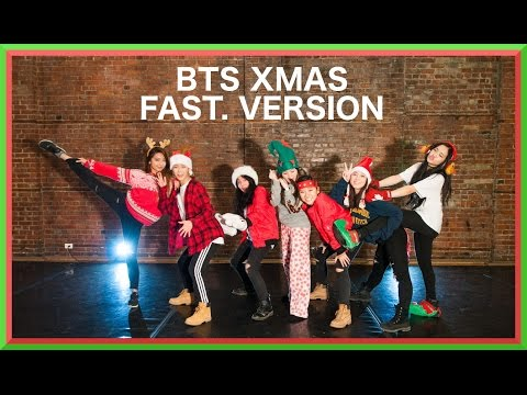 [EAST2WEST][???] BTS (방탄소년단) - 21st Century Girls (21세기 소녀) (Christmas Special)(fast ver.)