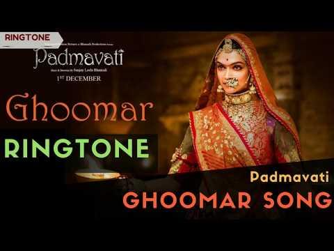 Ghoomar Song - Ringtone | Padmavati