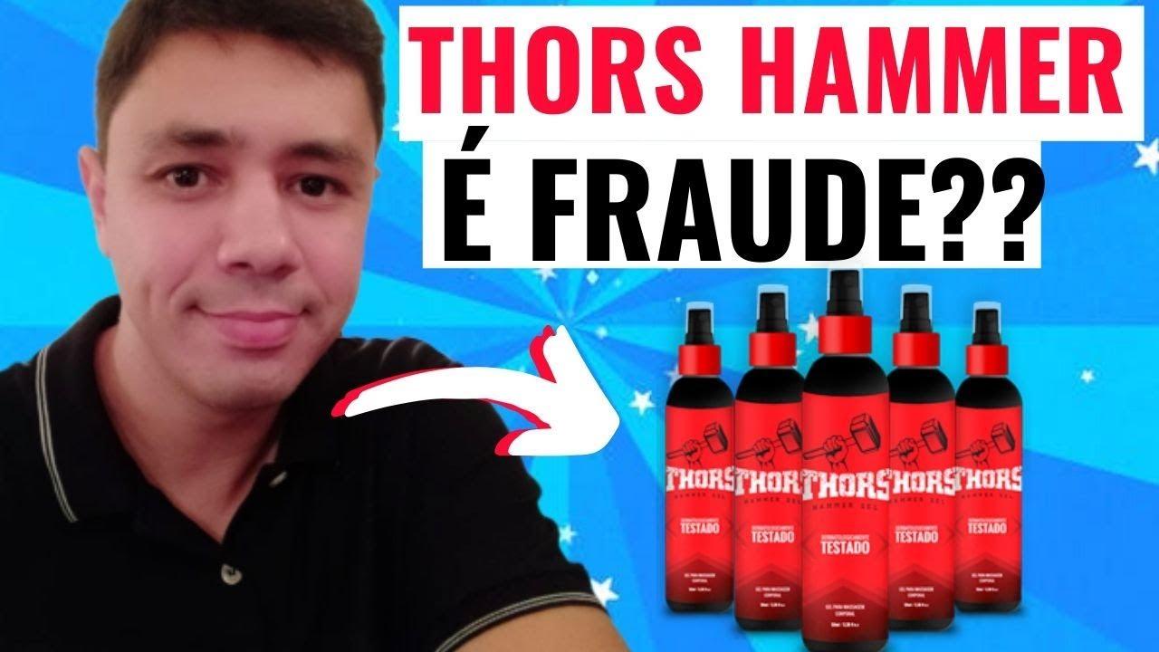 thors hammer gel composição