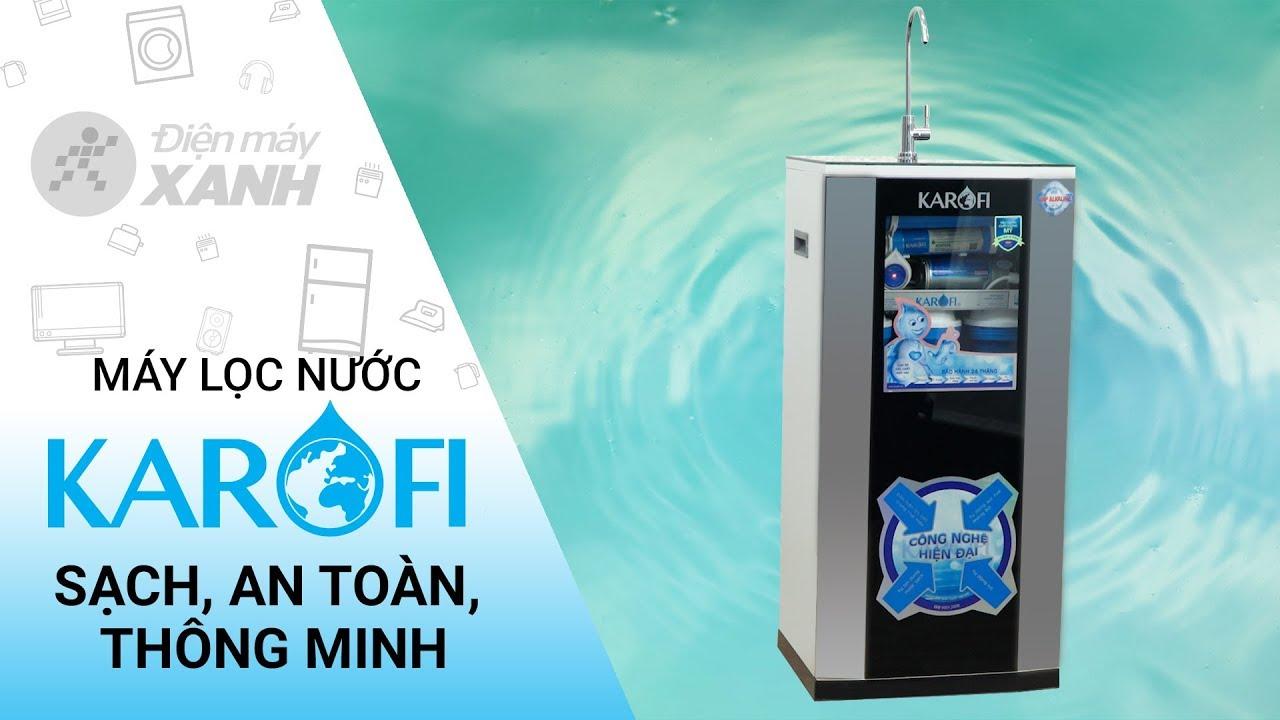 Máy lọc nước RO Karofi: Nước sạch hơn! Bổ dưỡng hơn! (KSI80-A) | Điện máy XANH