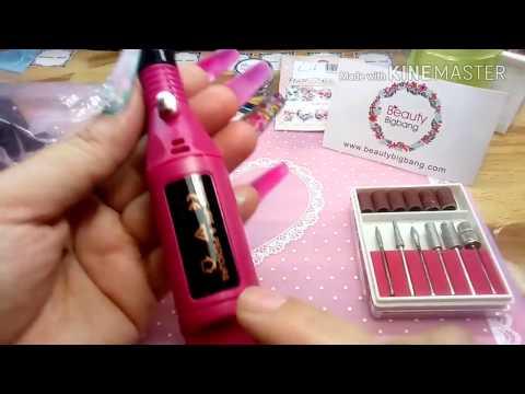 Drill para uñas como utilizarlo y para que sirve cada punta, productos económicos de Beauty Bigbang