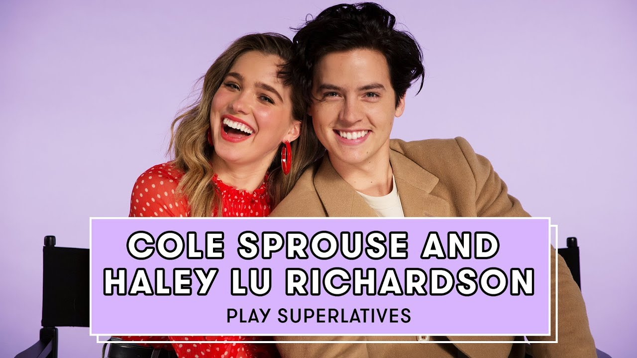 Download Cole Sprouse and Haley Lu Richardson Talk Love Languages, Five Feet Apart, and More | Superlatives