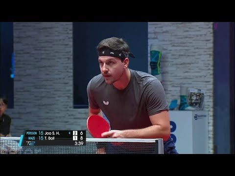 2017 T2 APAC (Round 6) JOO Saehyuk Vs Timo BOLL [Full Match/Chinese|HD]