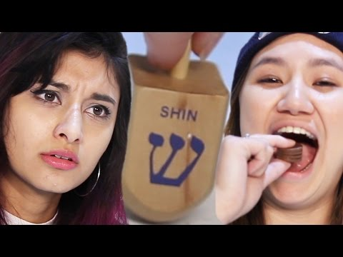 People Play Dreidel For The First Time