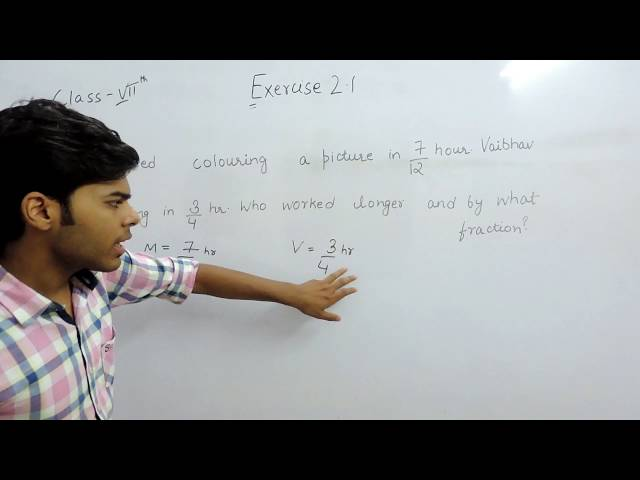 Exercise 2.1 Questions 8 - NCERT/CBSE Solutions for Class 7th Maths