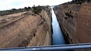 Video 5 Of 13 - Corinth Canal - Bucket List Trip To Greece, Italy & Dubai.