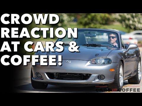 People react to my LS3 Miata at Cars & Coffee