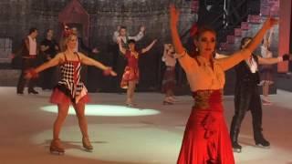"Ледовое шоу ""Кармен"" в Санкт-Петербурге, финал"