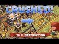 TH 11 Queen Charge and BoLaLoon Total Destruction! | Clash of Clans