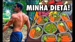 Alimentação Vegetariana Estrita para Ganho Muscular   Preparo Semanal