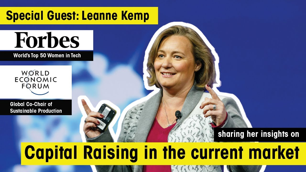 The Capital Raising Show Ep 3. - ft. Leanne Kemp