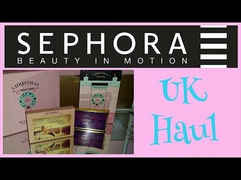 Sephora Haul UK | UK shipping review | Too faced Tarte | IdleGirl