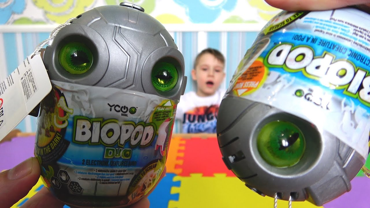 Игрушка Биопод Bionic YCOO ИКУ от Silverlit Видео про игрушки для детей